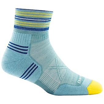 Darn taaie blauwe Womens vertex 1/4 Ultra lichte Sok