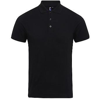 Premier mens Coolchecker plus Pique polyester Polo shirt