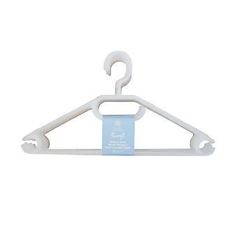 Russel Pack de 10 Hangers Clear
