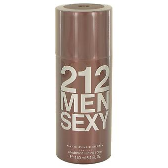 Carolina Herrera 212 Sexy uomini Deodorante Spray 150ml