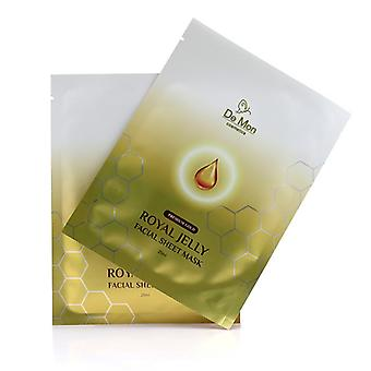 Gold Royal Jelly Facial Sheet Mask - 5x25ml/0.8oz