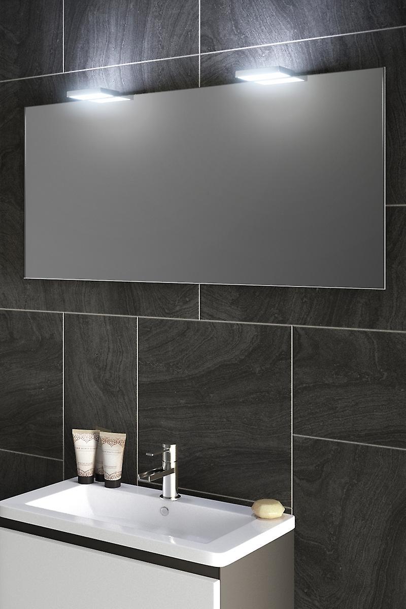 Ambient Shaver LED Top Light Mirror With Demister Pad & Sensor k491w