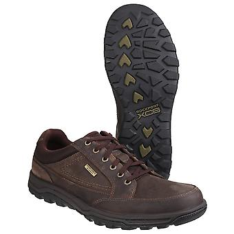 Rockport Mens Trail Technique Waterproof Lace up Chukka Walking Boots