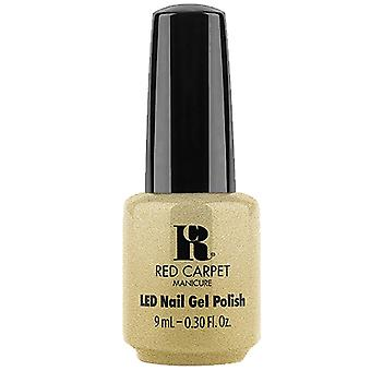 Red Carpet Manicure LED Gel Nail Polish - Gifted In Glitz (20517) 9ml