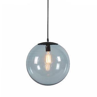 QAZQA Art Deco pendurado lâmpada cinza 35 cm - Pallon