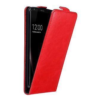 Caso cadorabo para LG V30 caso capa-telefone caso em design flip com fechamento magnético-caso capa caso caso caso livro Folding Style