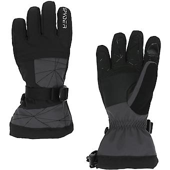 Spyder OVERWEB Gore-Tex Boys Ski Gloves charcoal
