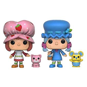 Strawberry Shortcake Strawberry & Bberry Scented US Pops 2Pk