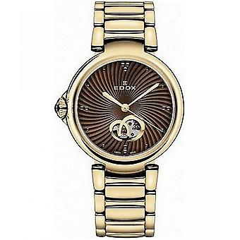 Edox naisten Watch 85025 37RM BRIR Automatic
