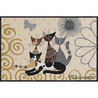 Rosina Wachtmeister Fantasia di Gatti salong lejon fot matta tvättbara 50 x 75 cm