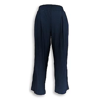 Anybody Women's Petite Lounge Pants SP Cozy Knit Blue A347173