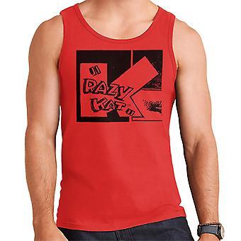 Krazy Kat Big K Box Logo Men's Vest