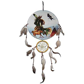 Chef indien et Teepee Dreamcatcher
