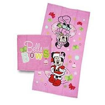 Towel - Disney - Minnie Mouse - Christmas Set New 377588