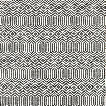 Mcalister textiles colorado tissu géométrique gris charbon de bois
