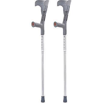 Drive - Loopkrukken - 2 stuks - opvouwbaar - ergonomisch handvat