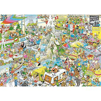 Jan van Haasteren The Holiday Fair Jigsaw Puzzle (1000 Pieces)