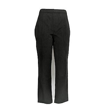 H di Halston Women's Pants Studio Stretch Tapered Leg Gray A280396