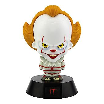 Stephen King Pennywise Icon Light 3D lamp made of 100% plastic, battery operated, in a cardboard box.