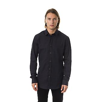 Men's Black Byblos Long Sleeve Shirts