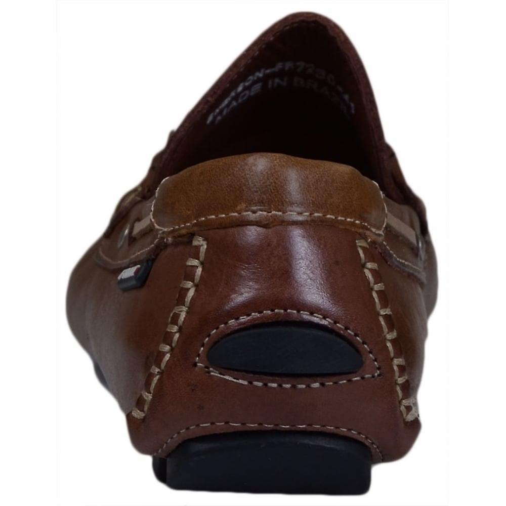 Przednie Buty Emerson Leather Brown Mokasyny