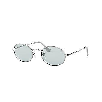 Ray-Ban RB3547 003/T3 Silver/Ljusblå fotokromiska solglasögon