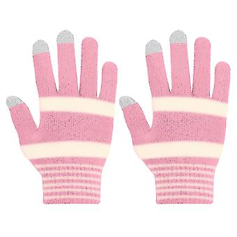 Women's Gloves for Touchscreen Touch properties preserved-Akashi, Neon Pink