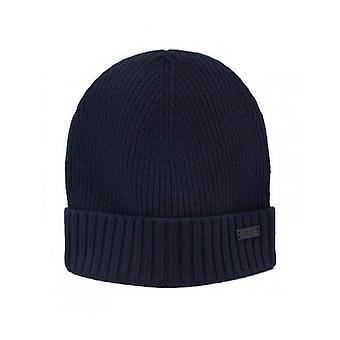 Hugo Boss Casual Hugo Boss Men's Navy Blue Fati-B Wool Hat