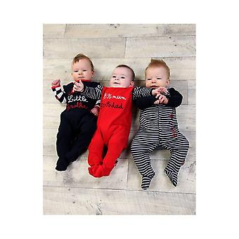 The Essential One Baby Boys Little Brother Sleepsuits - 3 Pack