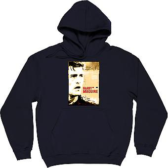 Harry Maguire Navy Blue Hooded-Top