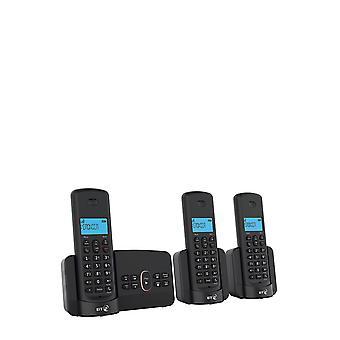 BT3110 Home Phone met Overlast Oproep Blokkeren en Antwoord Machine (Trio Handset Pack)