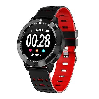 CF58 water resistant smartwatch-red