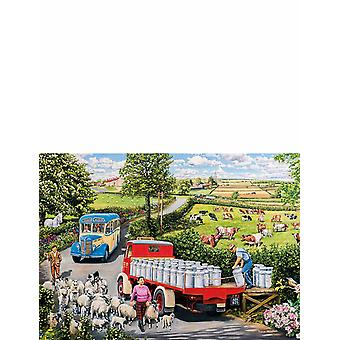 Gibsons The Country Bus 4 x 500pcs Jigsaw