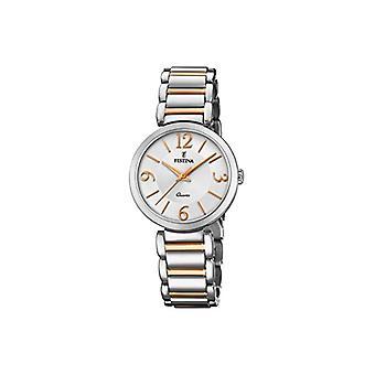 Festina montre analogique quartz femme avec l'acier inoxydable bracelet F20213-2