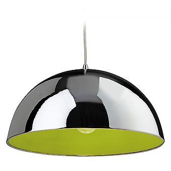 Firstlight Bistro Art Deco Modern Polished Chrome Ceiling Hanging Light Pendant