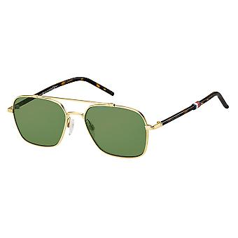 Tommy Hilfiger TH1671/S J5G/QT Gold/Green Sunglasses