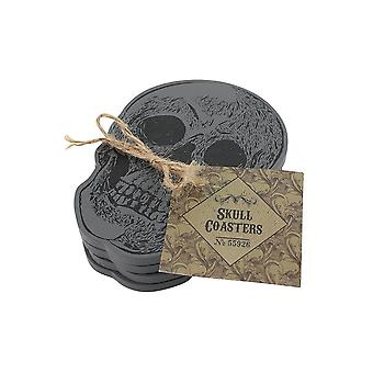 Gothic Homeware Skull Coasters