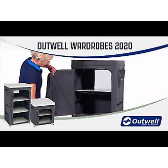 Outwell Milos Foldable Storage Cupboard With 3 Shelves