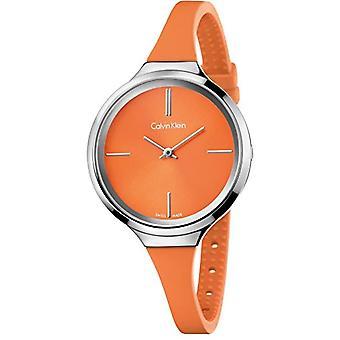 Calvin Klein mens Analog quartz ladies Silicone wrist watch K4U231YM