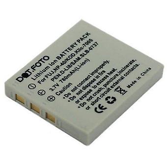 Dot.Foto Fujifilm NP-40, de batterij van de vervanging van de NP-40N - 3.7V / 780mAh