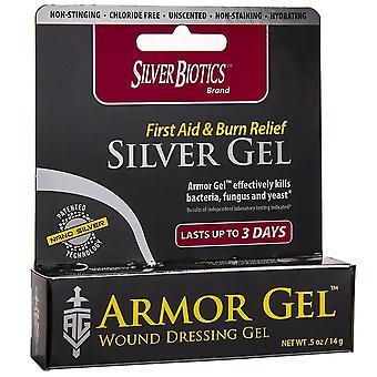 Silver biotics brand armor gel wound dressing gel, 0.5 oz