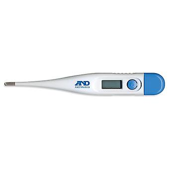 AandD Medical Digital Thermometer For Oral Underarm or Rectal use (UT103)