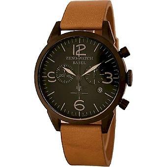 Zeno-Watch - Armbåndsur - Menn - Vintage Line 4773Q-bk-i1-6