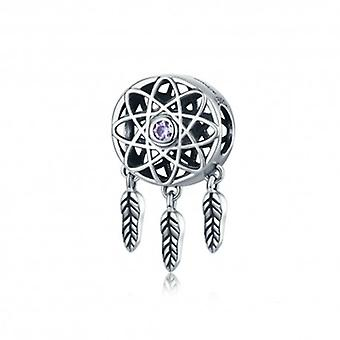 Sterling Silver Charm Dreamcatcher - 5496