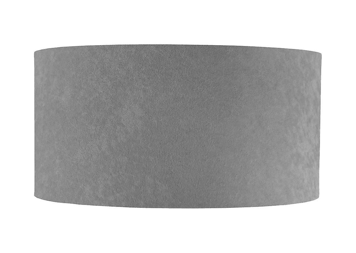 Pendelleuchte Hängeleuchte Jalua P Velours grey & gold Ø 40 cm 10624