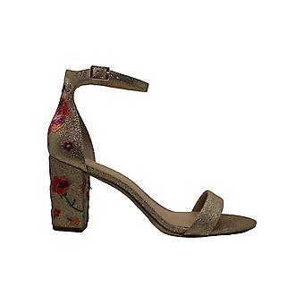 INC Womens Kivah Faux mocka blommig klänning sandaler