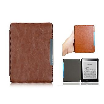 Kindle 4 / Kindle 5 case - PU leather - brown
