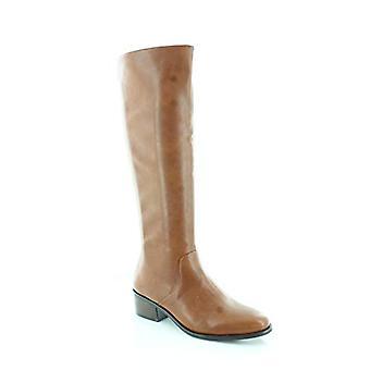بار الثالث المرأة Vayla الجلود اللوز القدم الركبة عالية أحذية رعاة البقر