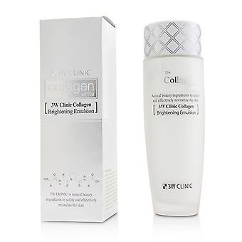3W Clinic Collagen White Brightening Emulsion 150ml/5oz