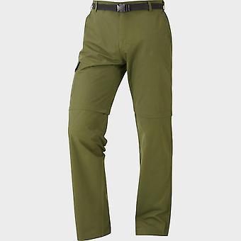 New Hi-Gear Men's Nebraska II Zip-Off Walking Trousers Green